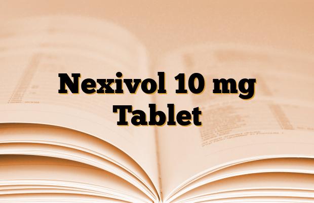 Nexivol 10 mg Tablet