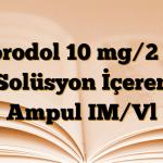 Norodol 10 mg/2 ml Solüsyon İçeren Ampul IM/Vl