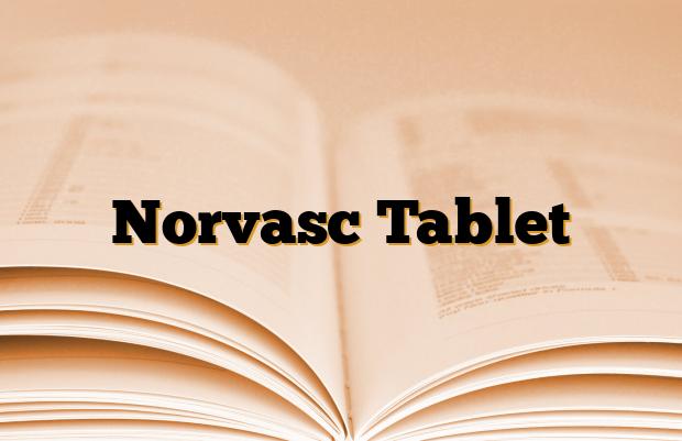 Norvasc Tablet