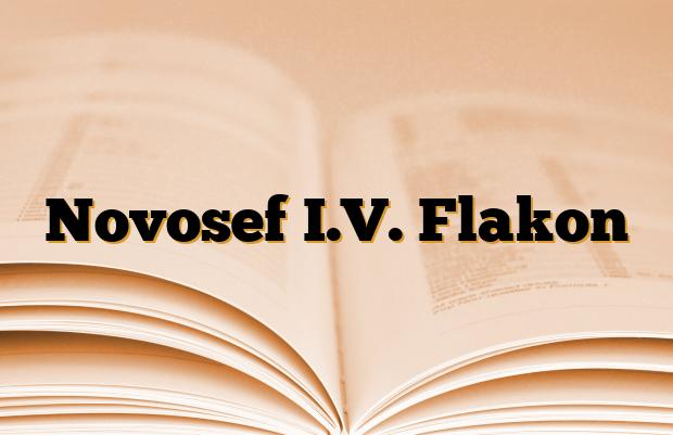 Novosef I.V. Flakon