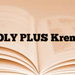 OLY PLUS Krem