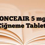 ONCEAIR 5 mg Çiğneme Tableti