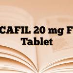 ORCAFIL 20 mg Film Tablet