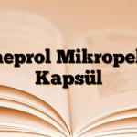 Omeprol Mikropellet Kapsül