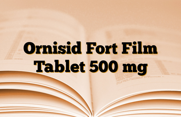 Ornisid Fort Film Tablet 500 mg