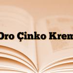 Oro Çinko Krem