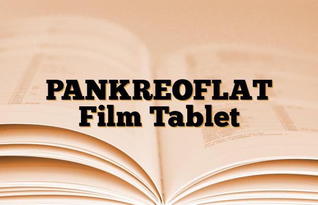 PANKREOFLAT Film Tablet