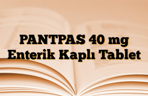 PANTPAS 40 mg Enterik Kaplı Tablet