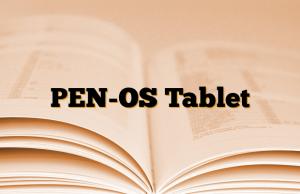 PEN-OS Tablet