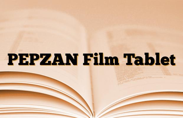 PEPZAN Film Tablet