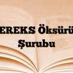 PEREKS Öksürük Şurubu