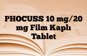 PHOCUSS 10 mg/20 mg Film Kaplı Tablet