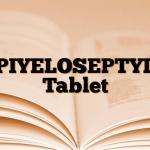 PIYELOSEPTYL Tablet