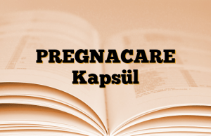 PREGNACARE Kapsül