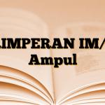 PRIMPERAN IM/IV Ampul