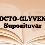 PROCTO-GLYVENOL Supozituvar