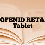 PROFENID RETARD Tablet