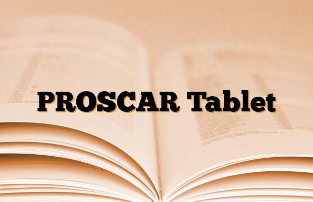 PROSCAR Tablet