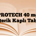 PROTECH 40 mg Enterik Kaplı Tablet