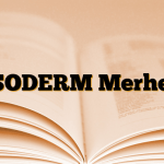 PSODERM Merhem