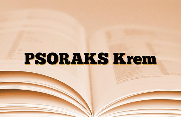 PSORAKS Krem