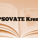 PSOVATE Krem