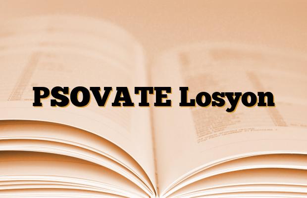PSOVATE Losyon
