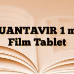 QUANTAVIR 1 mg Film Tablet
