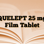 QUELEPT 25 mg Film Tablet
