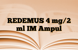 REDEMUS 4 mg/2 ml IM Ampul