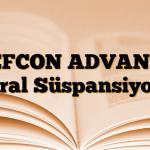 REFCON ADVANCE Oral Süspansiyon