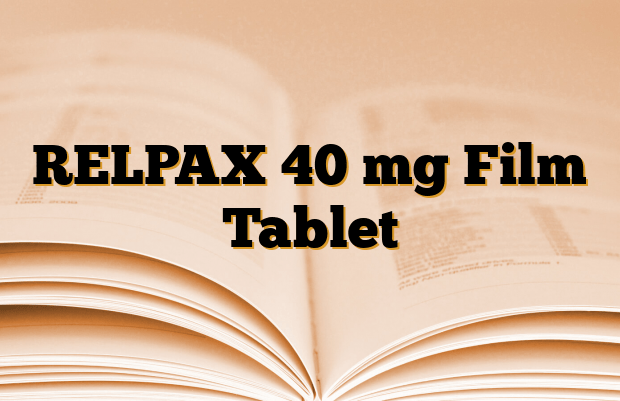 RELPAX 40 mg Film Tablet