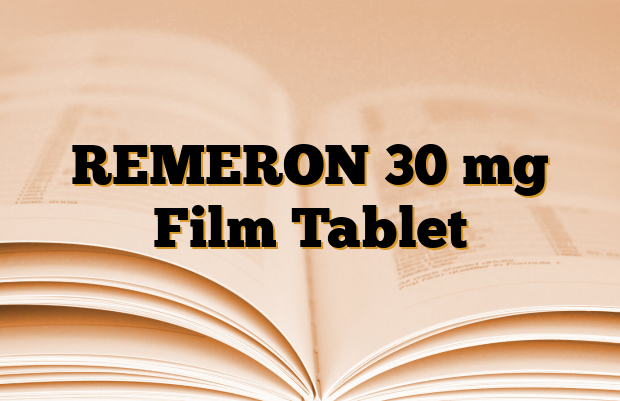 REMERON 30 mg Film Tablet
