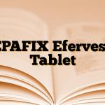 REPAFIX Efervesan Tablet