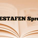 RESTAFEN Sprey