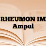 RHEUMON IM Ampul