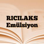 RICILAKS Emülsiyon