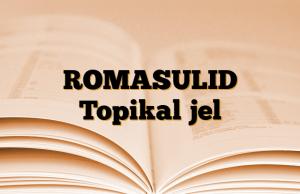 ROMASULID Topikal jel