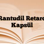 Rantudil Retard Kapsül