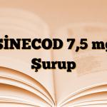 SİNECOD 7,5 mg Şurup