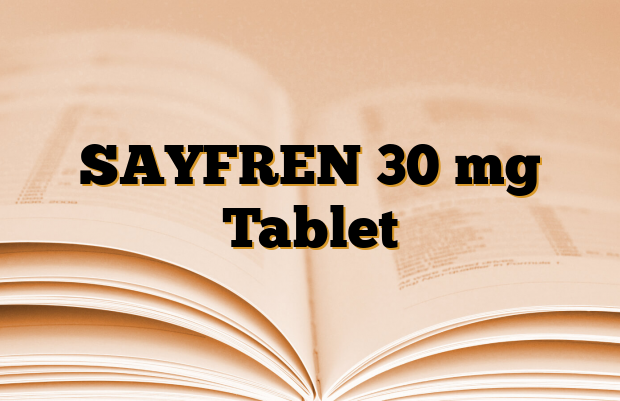 SAYFREN 30 mg Tablet