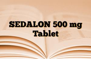 SEDALON 500 mg Tablet