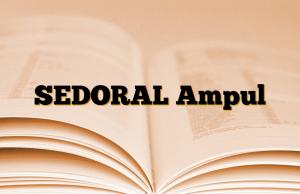SEDORAL Ampul