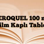 SEROQUEL 100 mg Film Kaplı Tablet
