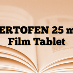 SERTOFEN 25 mg Film Tablet