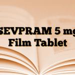 SEVPRAM 5 mg Film Tablet