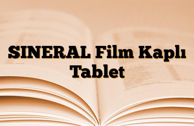 SINERAL Film Kaplı Tablet