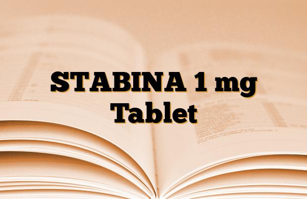 STABINA 1 mg Tablet