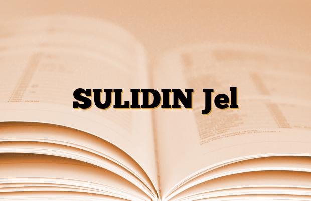 SULIDIN Jel