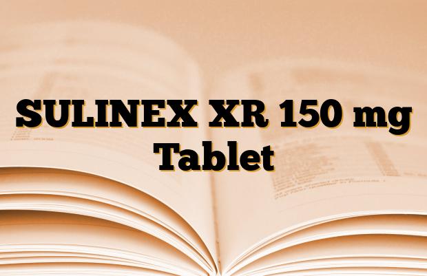 SULINEX XR 150 mg Tablet
